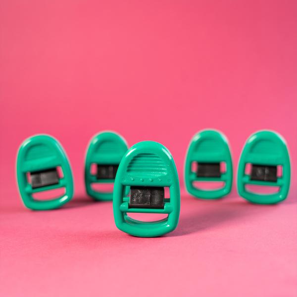 Clipso Sockenklammern 5er Set grün